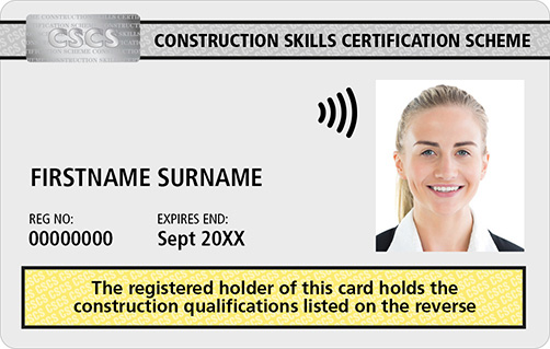 AQP CSCS Card Academically Qualified Person
