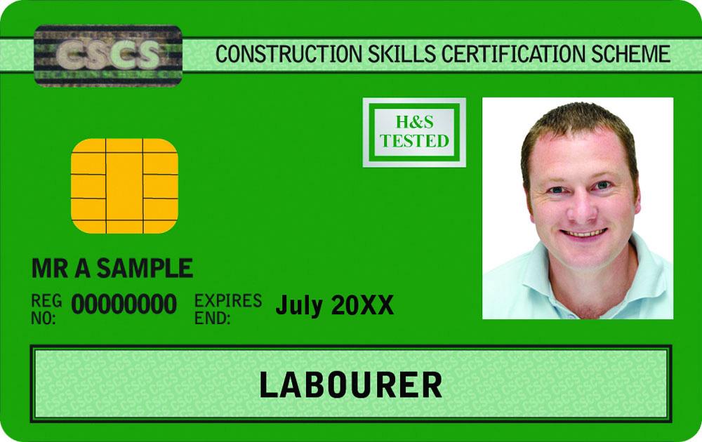 Green-CSCS-Labourer-Card